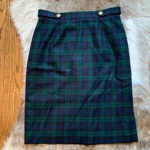 JH Collectibles vintage skirt 100% wool